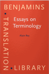 Essays on Terminology